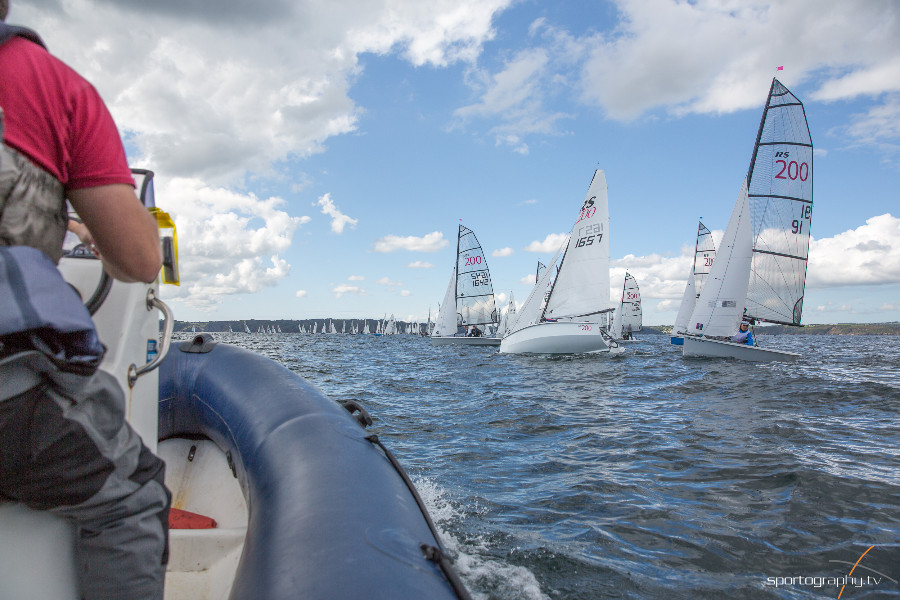 Volvo Noble Marine RS200 National Championships 2017