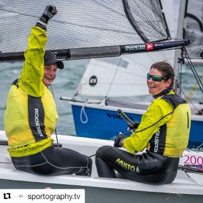 More information on Massive congratulations to Maria Stanley and Rob Henderson, RS200 National Champions 2018!