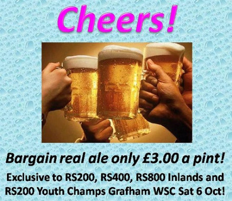 More information on REAL ALE JUST £3 A PINT AT GRAFHAM WSC!